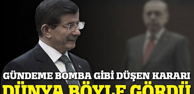 AK Parti'nin kongre kararı dünya basınında