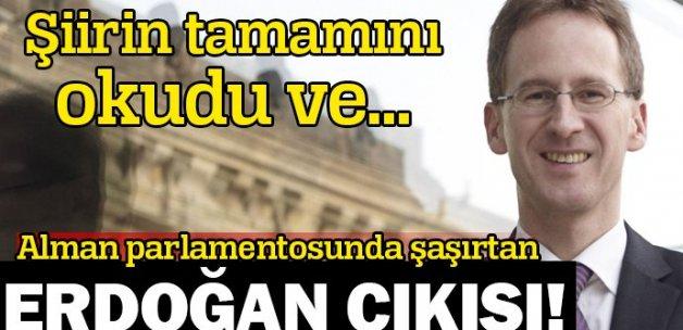 Alman parlamentosunda Erdoğan'a destek