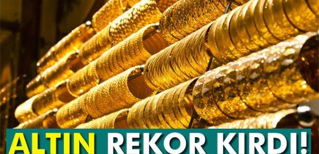 Altın rekor kırdı! Çeyrek altın ne kadar?