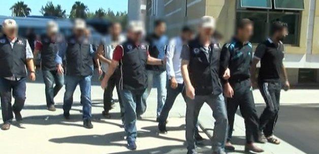 Antalya'da IŞİD operasyonu: 10 gözaltı