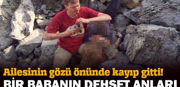 Antalya'da kayalıklardan düşen turist öldü