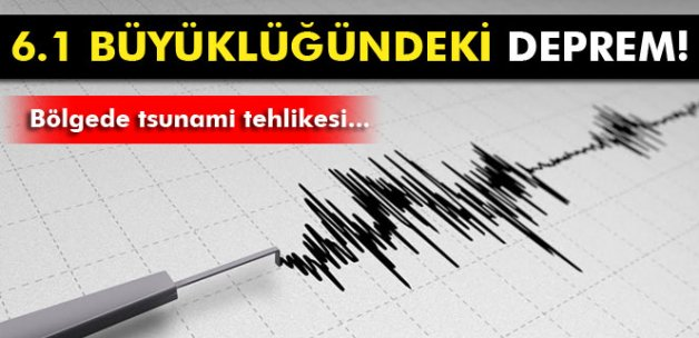 Avustralya 6.1 büyüklüğündeki depremle sarsıldı