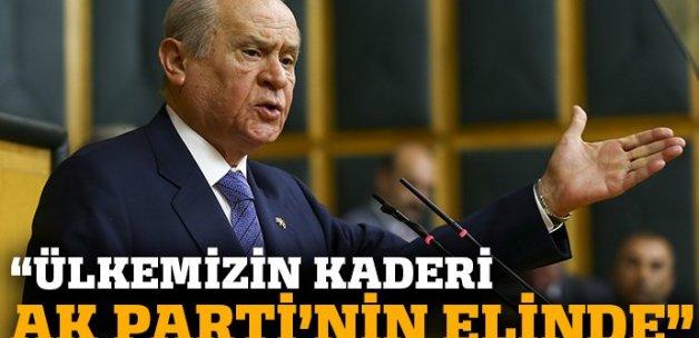 Bahçeli'den Davutoğlu'nun kararı için ilk açıklama