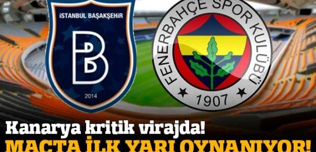 Başakşehir Fenerbahçe  maç skoru kaç kaç