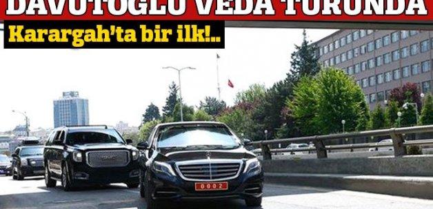 Başbakan Davutoğlu, veda ziyaretlerine başladı