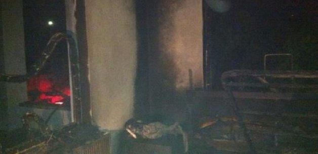 CHP'li başkan: Evimi kundakladılar