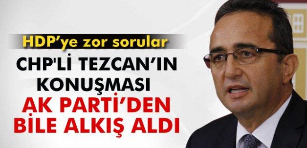 CHP'li Tezcan, Meclis'teki konuşması ile AK Parti'den bile alkış aldı