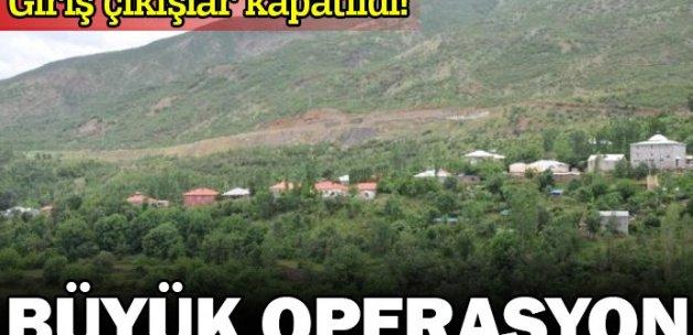 Çukurca'da terör operasyonu: 30 gözaltı