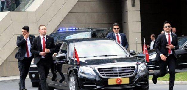 Cumhurbaşkanı Erdoğan'dan hastene ziyareti