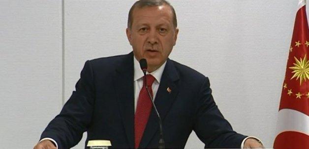 Cumhurbaşkanı Erdoğan'dan Putin'e yanıt