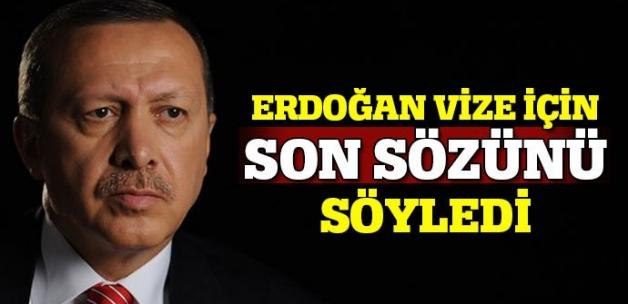 Cumhurbaşkanı Erdoğan son sözünü söyledi