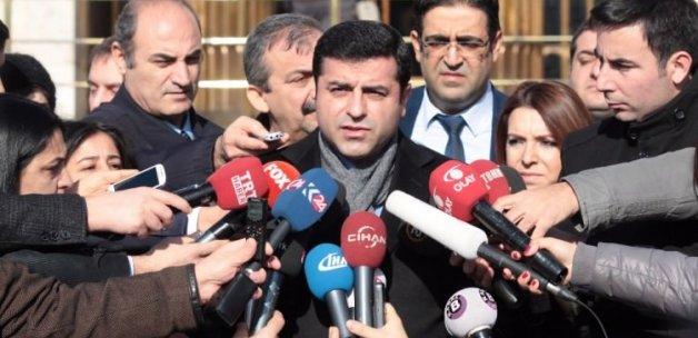 Demirtaş'tan dokunulmazlık kararı açıklaması