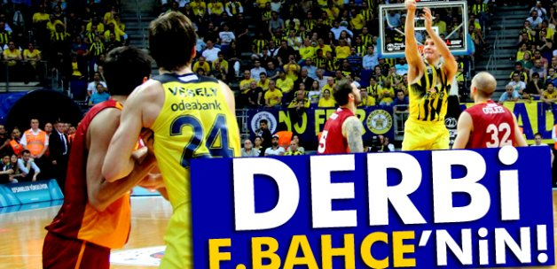 Derbi Fenerbahçe'nin!