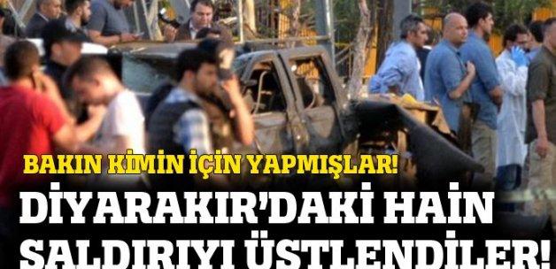 Diyarbakır'daki bombalı saldırıyı HPG üstlendi