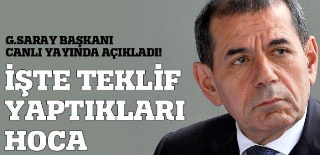 Dursun Özbek: 'Lucescu ile görüşüyoruz'