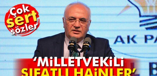 Ekonomi Bakanı Mustafa Elitaş: 'Milletvekili sıfatlı hainler'