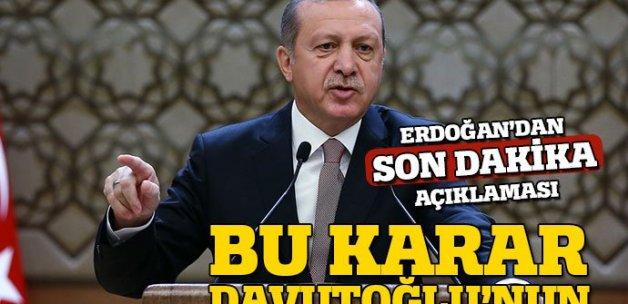 Erdoğan'dan kongre değerlendirmesi