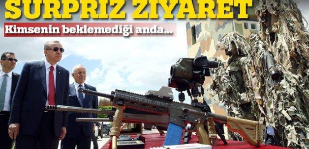 Erdoğan'dan Özel Kuvvetler'e sürpriz ziyaret