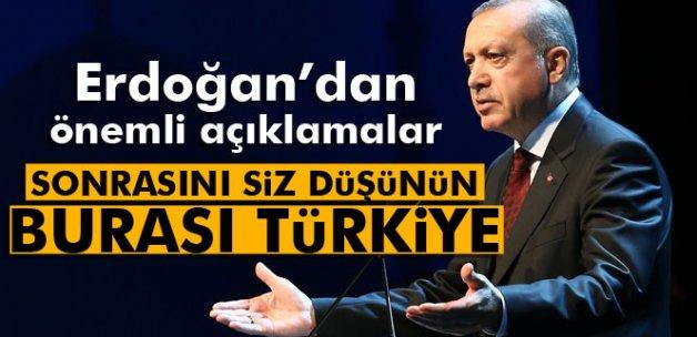 Erdoğan: 'Görüşmelerde netice alınmazsa, Meclis'ten yasa çıkmaz'