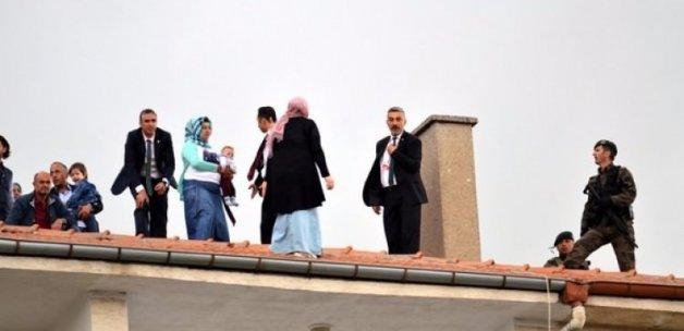 Erdoğan'ın korumalarını harekete geçiren an!