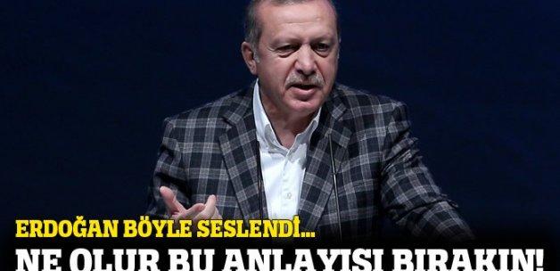 Erdoğan: İşçilerin ücretleri ve sosyal hakları kısıtlanarak kazanç olmaz