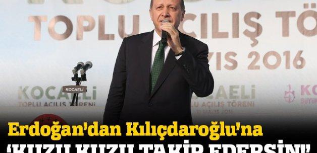 Erdoğan: Milletim 'başkanlık sistemine geçiyoruz' derse kuzu kuzu takip edersin