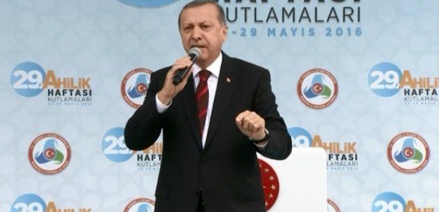 Erdoğan: 'Operasyonların olduğu bölgeleri yeniden inşa edeceğiz'