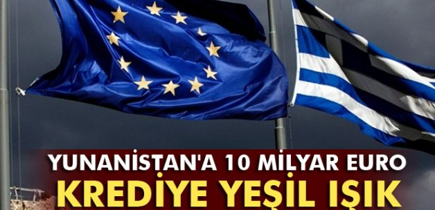 Euro Bölgesi'nden Yunanistan'a 10.3 milyar Euro'ya onay