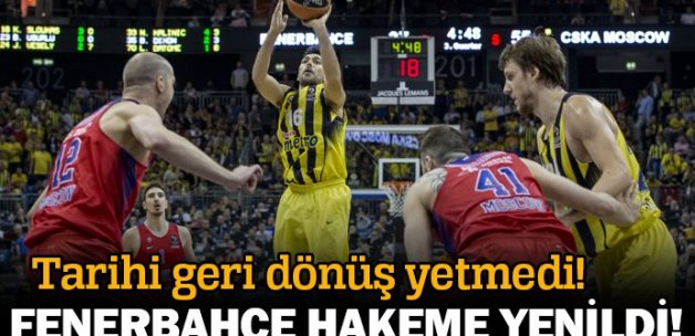 Fenerbahçe - CSKA Moskova 96-101