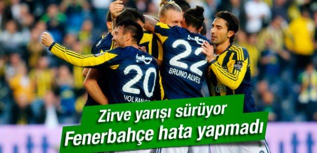 Fenerbahçe Gaziantepspor maçının sonucu ve golleri