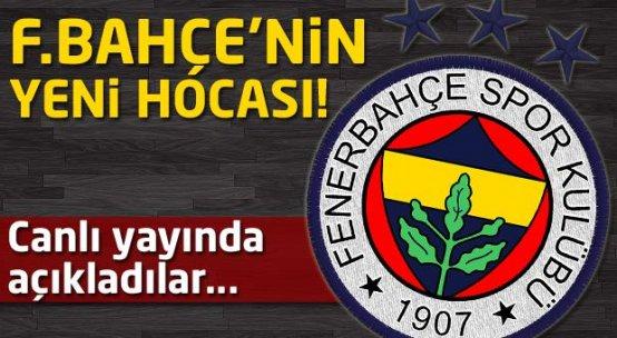 Fenerbahçe'nin yeni hocasını canlı yayında açıkladı!