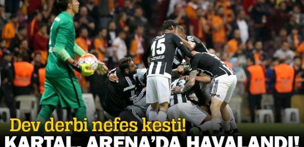 Galatasaray 0-1 Beşiktaş maçı özeti ve golleri (G.S, BJK MAÇI SKORU, GENİŞ ÖZETİ)