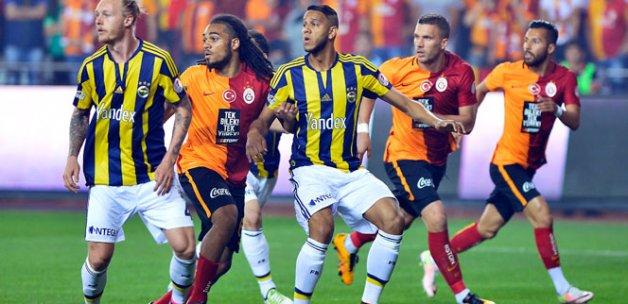 Galatasaray 1 Fenerbahçe 0 (Maç özeti)