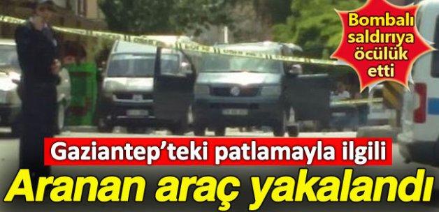 Gaziantep'te aranan araç yakalandı!