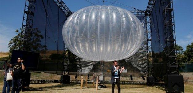 Google'dan müthiş adım! Bedava internet balonu