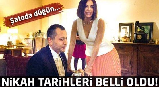 Gülşen ve Ozan Çolakoğlu'nun nikah tarihi belli oldu