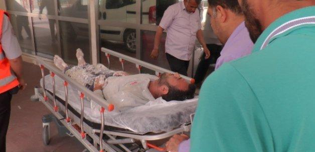 İnşaat iskelesi çöktü: 3 işçi ağır yaralı