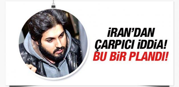 İran'dan çarpıcı iddia! Zarrab ABD'ye bile bile...