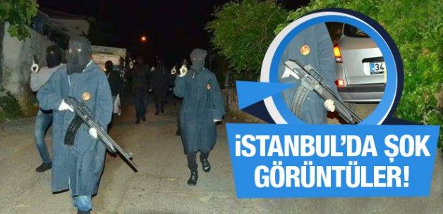 İstanbul'da silahlı üniformalı kimlik kontrolü!