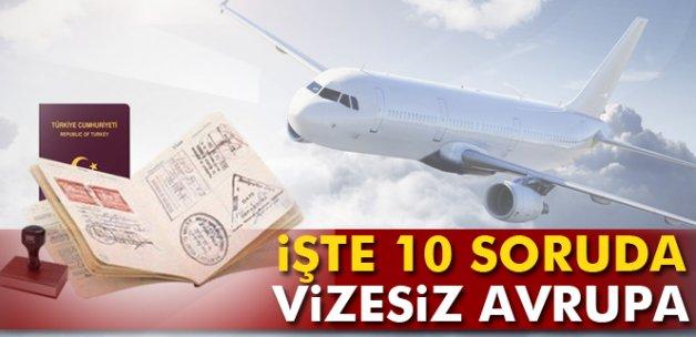 İşte 10 soruda vizesiz Avrupa seyahati!