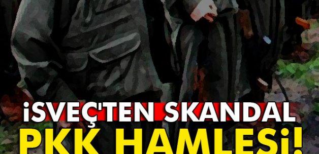 İsveç'ten skandal PKK hamlesi