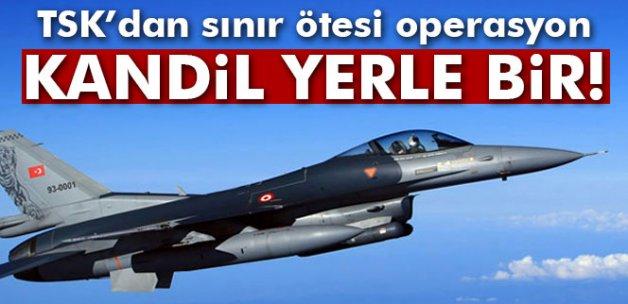 Kandil'e hava harekatı: 18 terörist öldürüldü