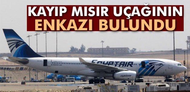 Kayıp Mısır uçağının enkazı bulundu