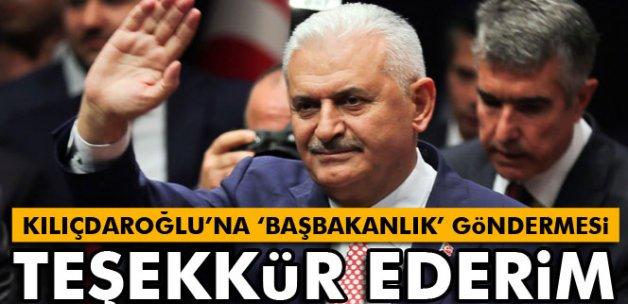 Kılıçdaroğlu'na 'başbakanlık' göndermesi