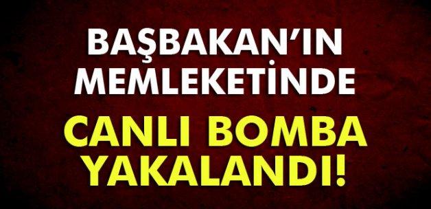 Konya'da canlı bomba yakalandı