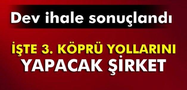 Kuzey Marmara otoyolu ihalesi sonuçlandı