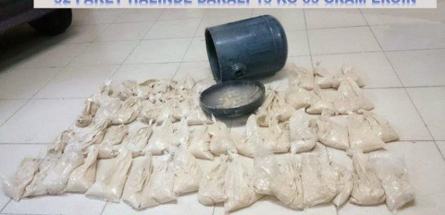LPG tankından 600 bin TL'lik eroin çıktı