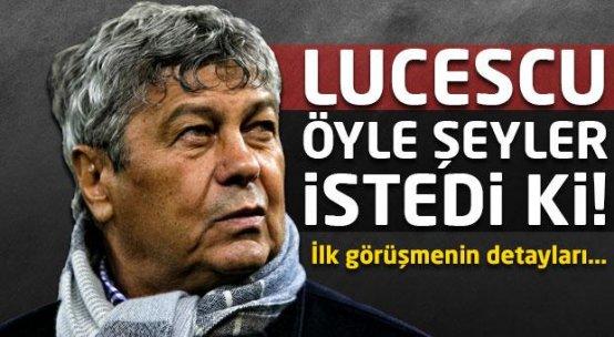 Lucescu'nun Fenerbahçe'den istekleri şoke etti!