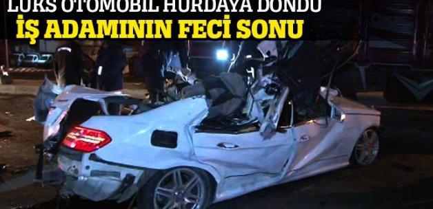 Maltepe'de çok feci kaza: 1 ölü