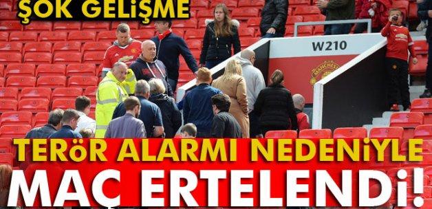 Manchester United maçına terör engeli